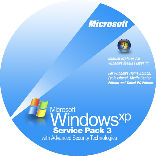 windows xp professional install disk