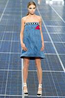 Латна дънкова рокля