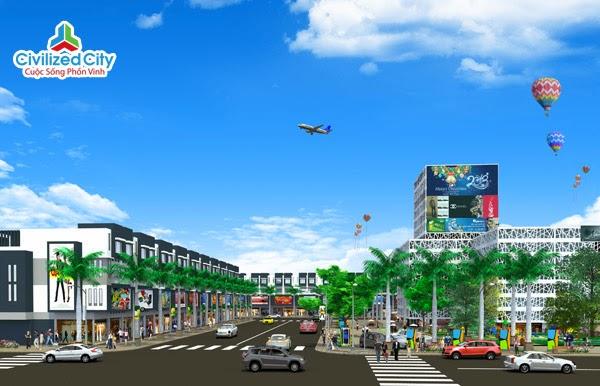 pho thuong mai civilized city