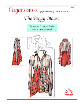 Click on the blouse to view upcycle sewing patterns