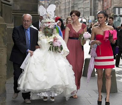 La boda de Elaine Davidson