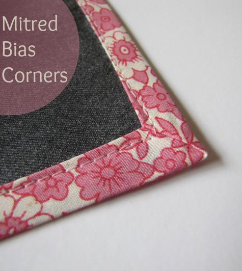 Tutorial: Mitred Bias Corners