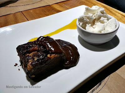 Riz Bistrot & Risottos: Brownie de Chocolate e Nozes
