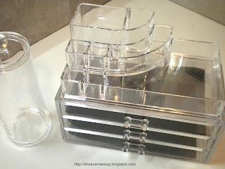 Elisa vs make up cosmetic organizer - Ikea scatole plastica trasparente ...