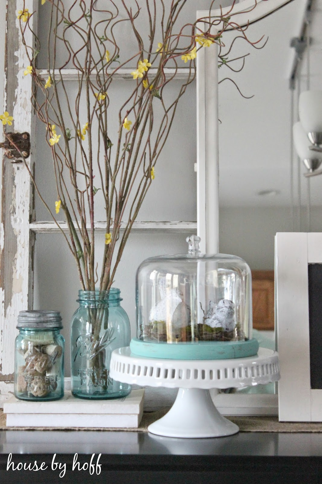 how to decorate with birds via housebyhoff.com