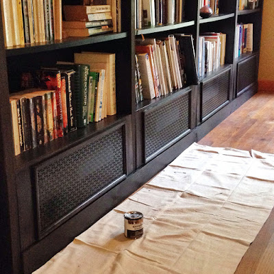 chary sprouts custom built in ikea billy bookcases. Black Bedroom Furniture Sets. Home Design Ideas