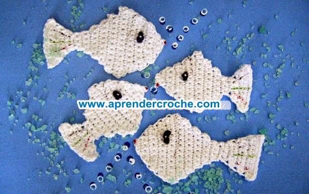 aprender croche peixes nemo aquario brasil oceano mar rio dvd cinema loja curso de croche edinir-croche