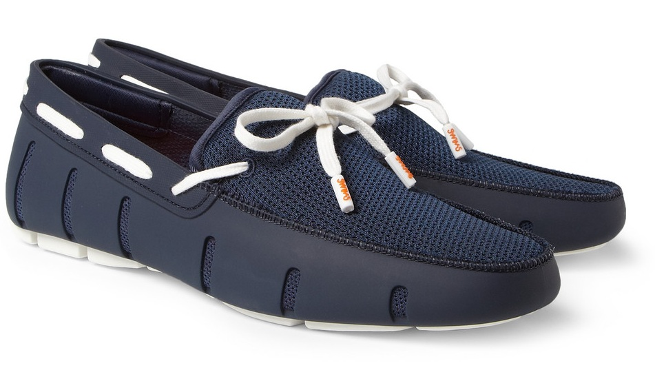 The Modern Man Blog: Shoe of the Week: SWIMS Rubber Boat Shoes