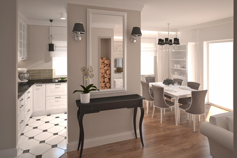 Simply Home Klasyczna Przestrzeń Dzienna
