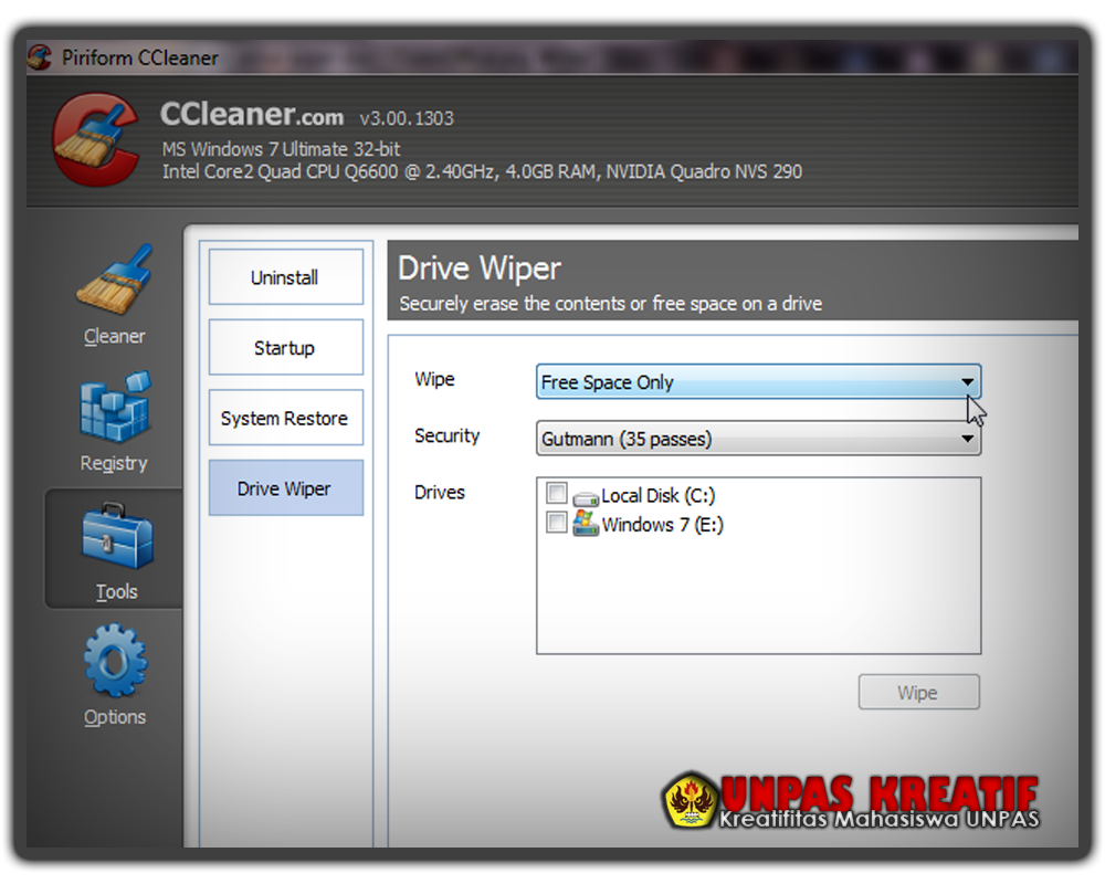 ccleaner software free download windows 7 32 bit