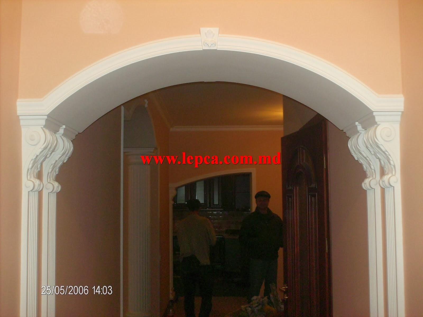 Дизайн квадратных арок в квартире