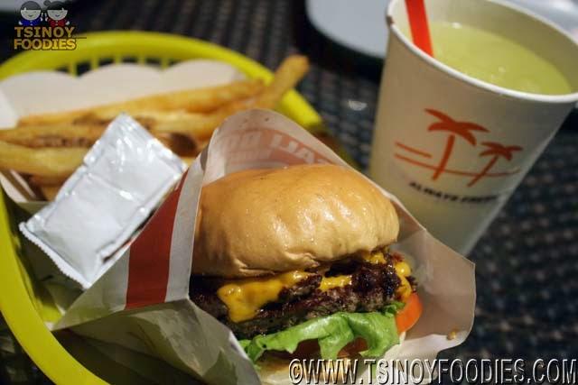 cali double cheeseburger