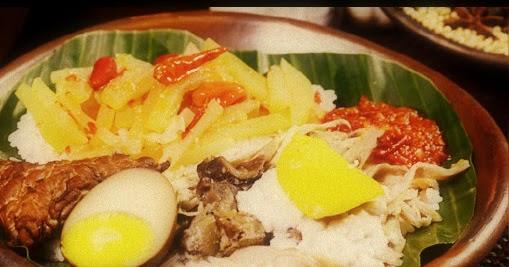 Nasi Liwet Makanan Tradisional Dari Solo Jawa Tengah Negeriku