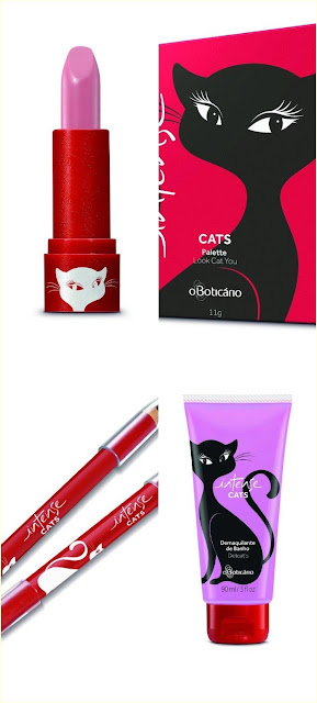 Coleção Intense Cats - O Boticário