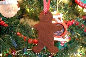 Cinnamon Applesauce <br>Ornaments