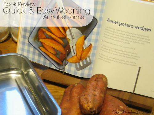 Book Review - Quick & Easy Weaning - Our Handmade Home