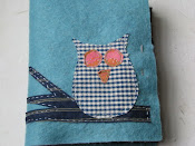 Felt Notebook and Crayon Roll * FREE Pattern*
