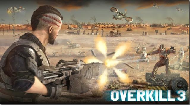 Overkill 3 v1.3.0 Apk + Datos SD Mod [Dinero ilimitado]