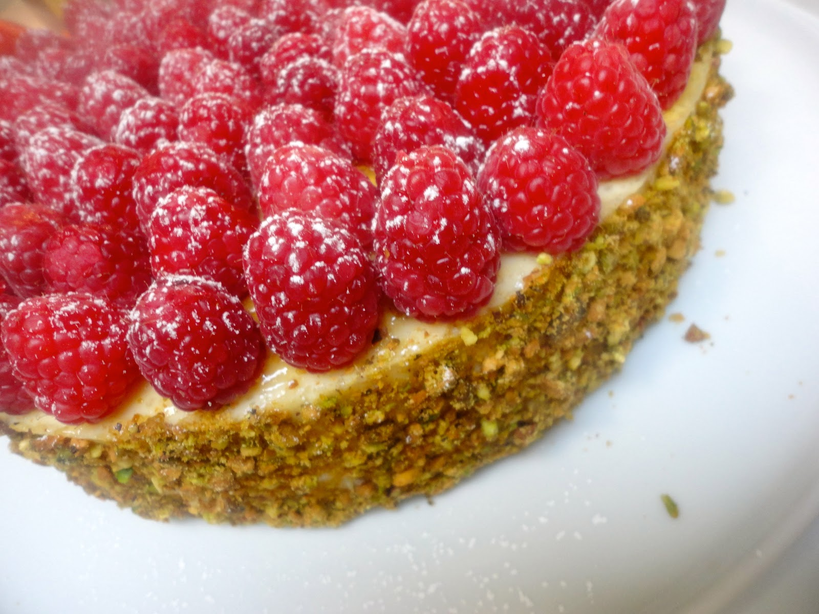 ... Pistachio Cheesecake from John Barricelli of the SoNo Baking Company