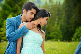 Pooja Hegde romantic Spicy Stills from movie Oka laila Kosam