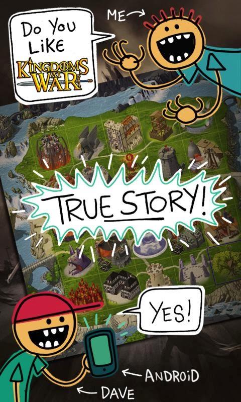 صورة من لعبة Kingdoms at War