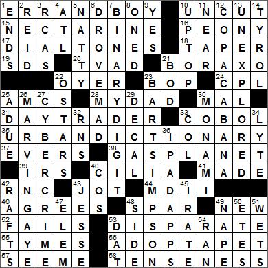 Stock exchange crossword clue