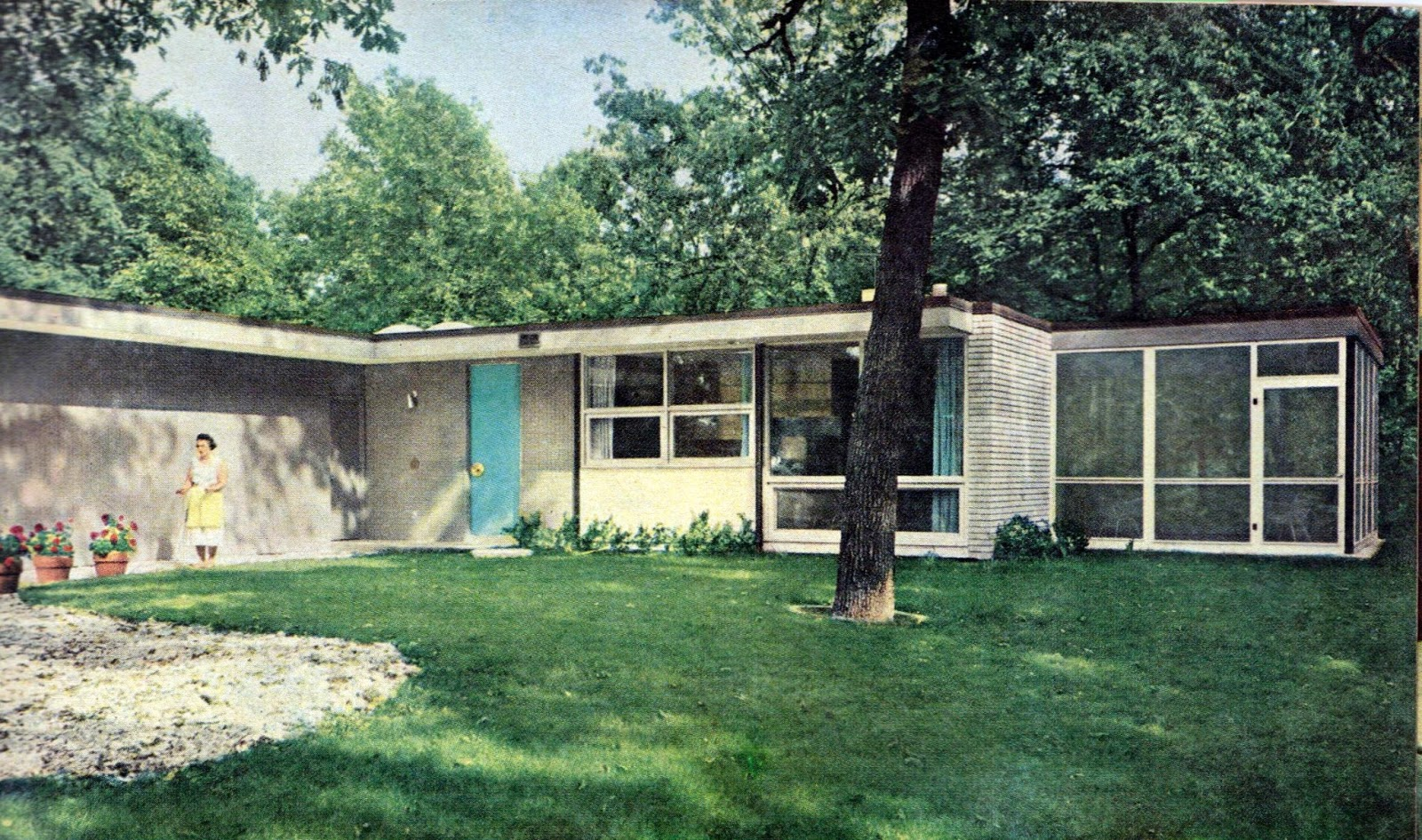 Love Fashion Love Vintage Mid Century House 1958 Better