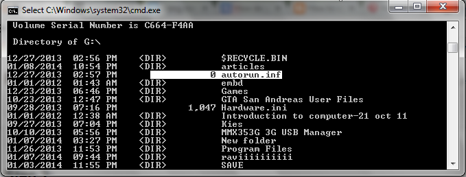 how to tell if virus is hidden in torret