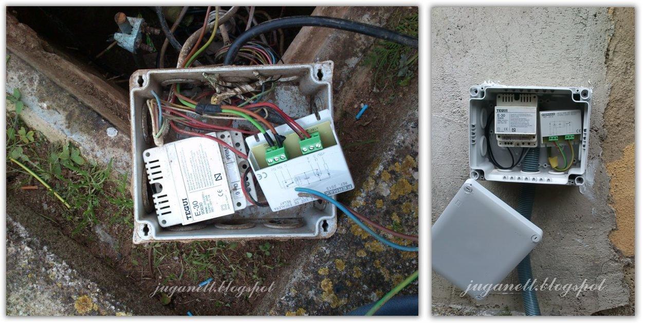 Saneando la instalaci n de un jard n for Instalacion electrica jardin
