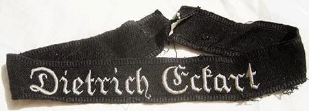 ban lengan  'Dietrich Eckart'.