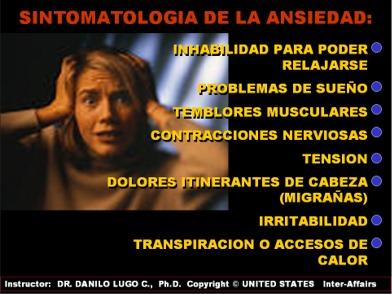 que es la ansiedad sintomas y tratamiento