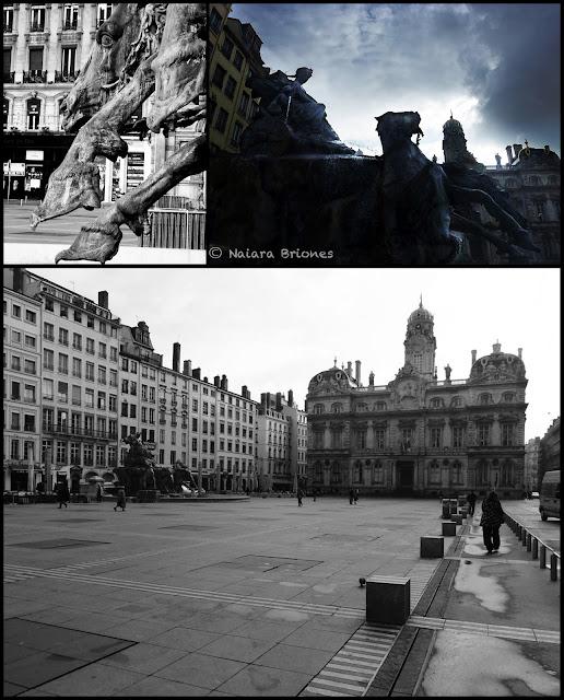 Plaza de Terreaux, Lyon
