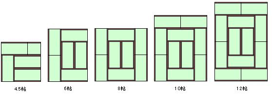 10 Tatami Mat Room
