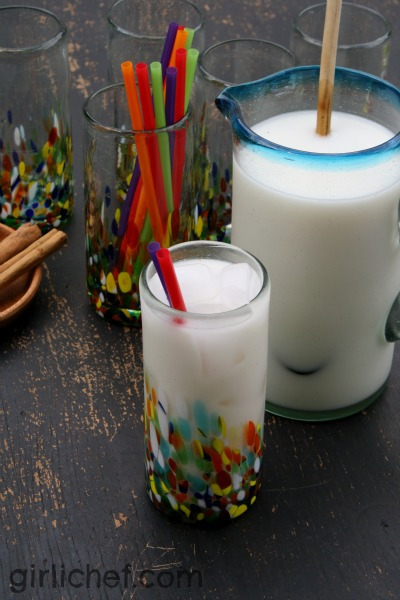 Simple Horchata + a $50 @Novica giveaway | www.girlichef.com