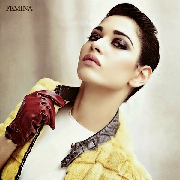 Humshakals Fame Tamanna Bhatia Hot photoshoot for Femina Magazine