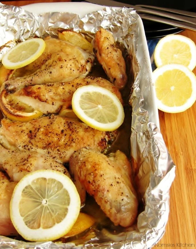 Roast Chicken with Lemon & Herbs Recipe | nomsieskitchen.com