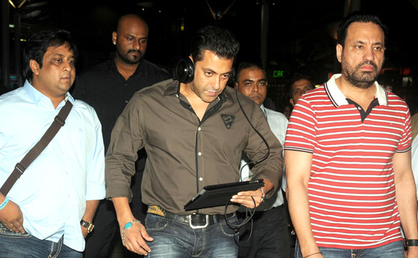 Salman Khan Photos at Airport - 2012