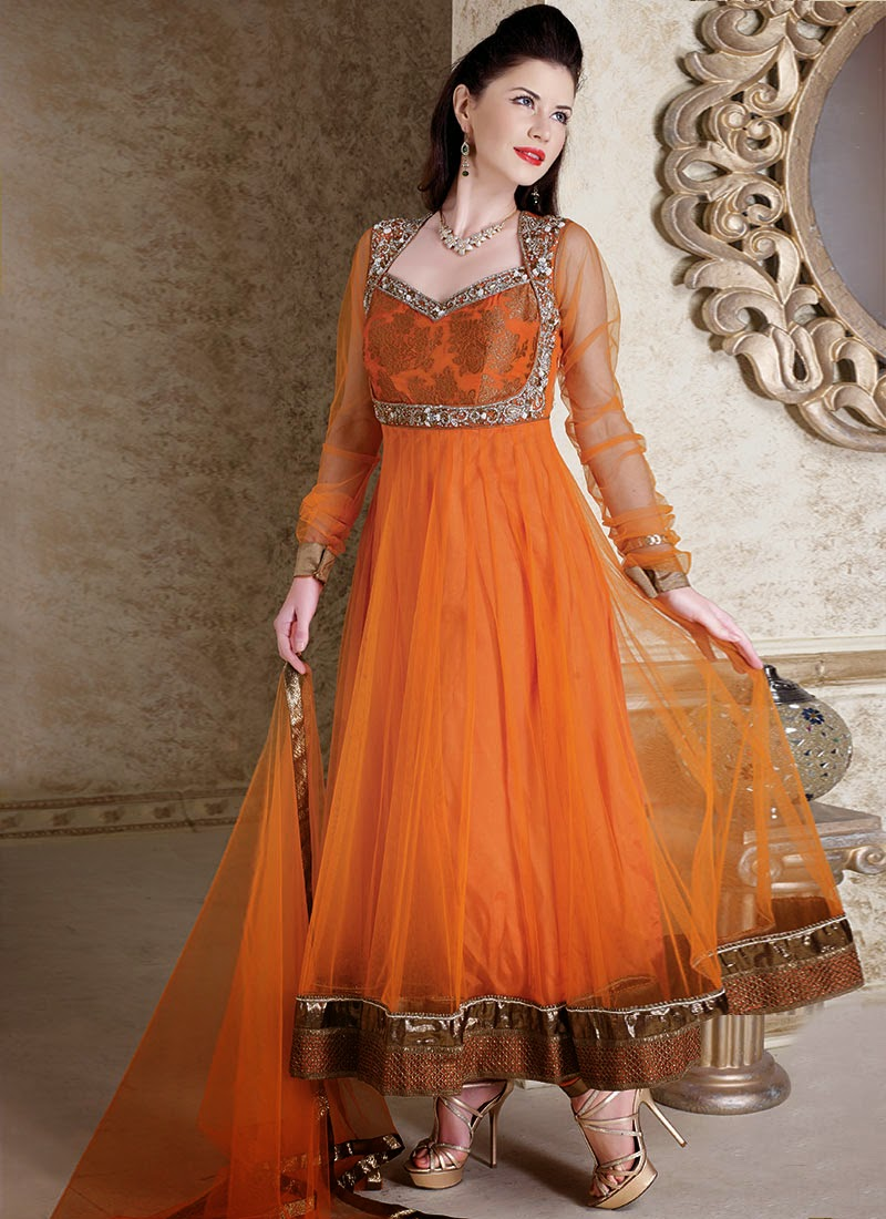 Bridal sarees indian bridal sarees bridal sarees for parties - Latest Designs Of Anarkali Suits Collection 2013 Latest