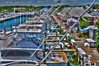 Saltwater style for Ocean city fishing center