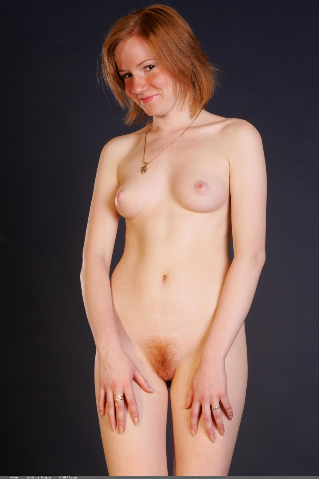 Nude redheads with bush — img 8