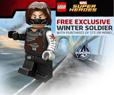 LEGO x Marvel Winter Soldier Mini Figure
