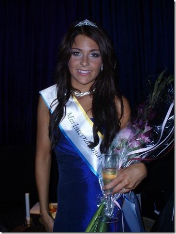 Miss International Sweden 2012 Katarina Konow