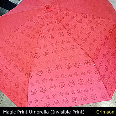 magic print umbrella