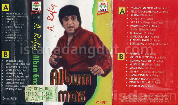 download mp3, kumbang merana, a rafiq, best of a rafiq, cover album, dangdut original