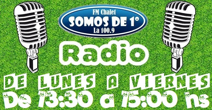 SOMOS DE 1° radio, por la 100.9