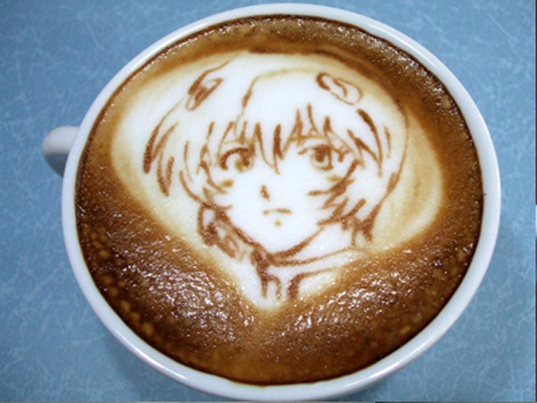 evangelion cafe