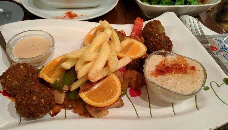 mantar-falafel menü