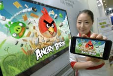 Angry Bird, Android, Iphone