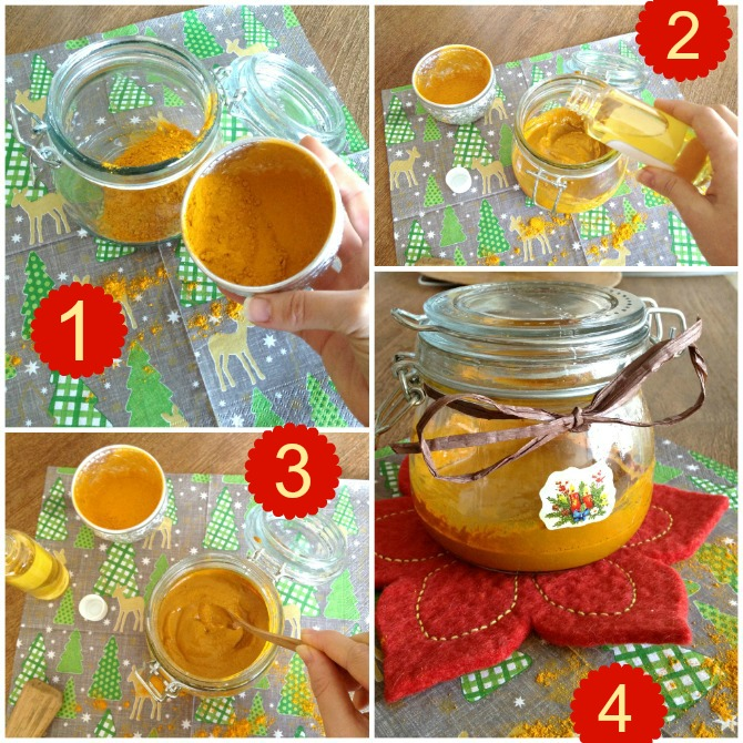 Recipe for DIY Turmeric Body Mask