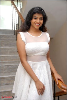 Lakshmi Nayar  Pictures in White Dress at 143 Hyderabad Movie Audio Launch  0002.jpg